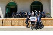 (주)한독의료기,「수동(의료용) 휠체어」기증 행사